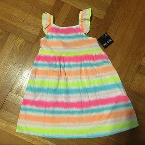 NEW! Okie Dokie Toddler Girls Tie Dye Tank Dress